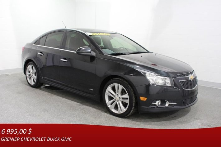 2012 Chevrolet Cruze Ltz Rs Turbo Gps Cuir Toit Ouvrant Used For Sale In Terrebonne Grenier Occasion