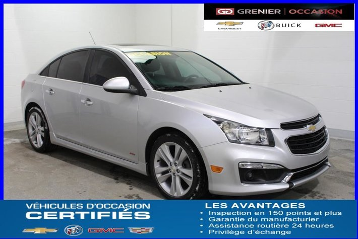 2015 Chevrolet Cruze 2lt Rs Turbo Cuir Toit Dem A Dist Used For Sale In Terrebonne Grenier Occasion