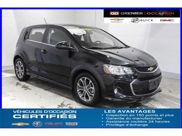 2017 Chevrolet Sonic Lt Rs Turbo Toit Jupes Ailerons Mags Used For
