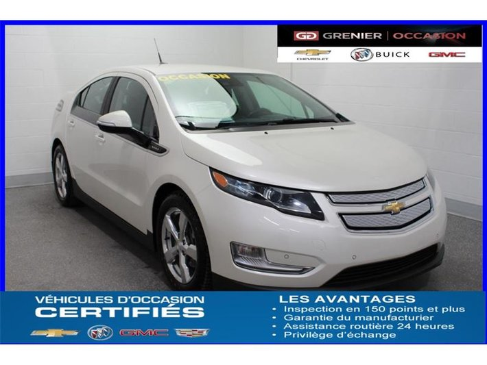 2014 Chevrolet Volt Electric Nav Cuir Siauf Camc Used For