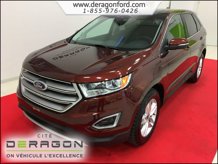 Ford Edge Sel Awd Toit Navigation Bas Km Sel Awd Sunroof Navigation Low Mileage
