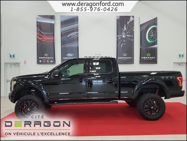 Ford F  X Supercrew Xlt Ens Sport Version Ttt X Supercrew Xlt