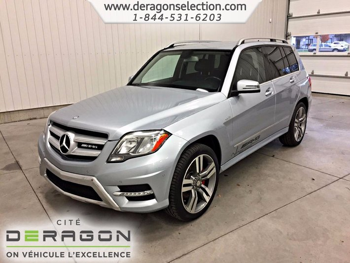 Used 2013 Mercedes Benz Glk Class 350 4matic Amg Package Aucun