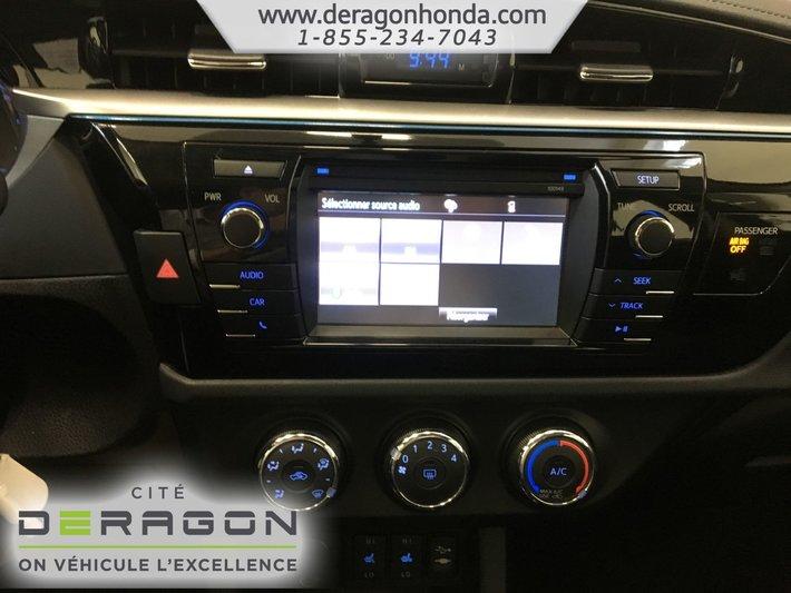 2014 toyota corolla interior lights