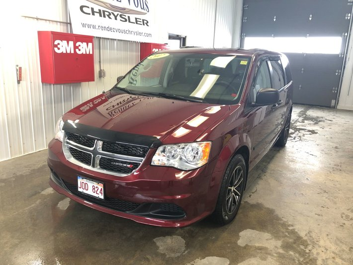 Dodge Extended Warranty >> Used 2017 Dodge Grand Caravan Canada Value Package Extended Warranty