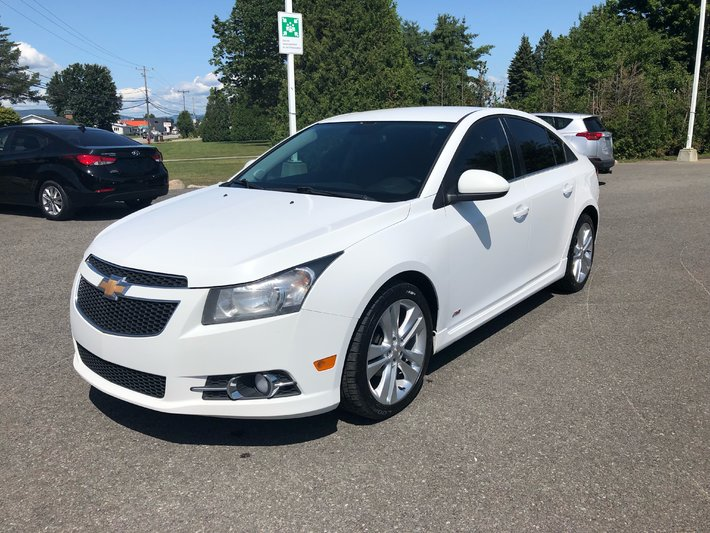 Used 2013 Chevrolet Cruze Lt Turbo 41 Week In St Raymond Used Inventory St Raymond Toyota In St Raymond Quebec