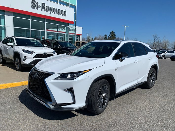 used 2019 lexus rx 350 f sport in st raymond used inventory st raymond toyota in st raymond quebec 2019 lexus rx 350 f sport in st raymond