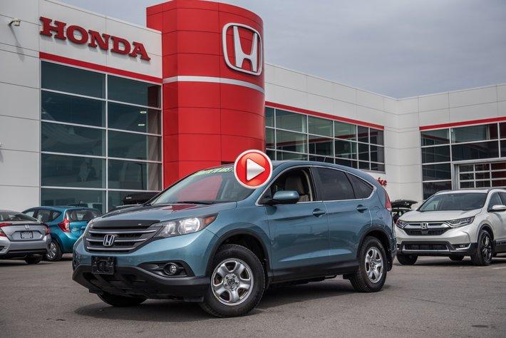 2014 Honda CR-V EX AWD GARANTIE 10ANS/200,000 KILOMETRES* 92480A  TURQUOISE