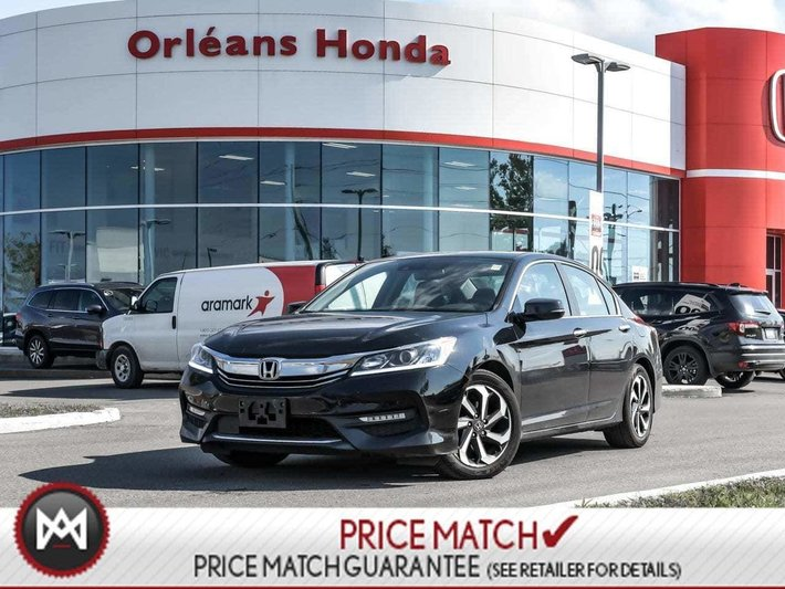 2017 Honda Accord EX-L Leather Roof Loaded LOADED EX-L ONE