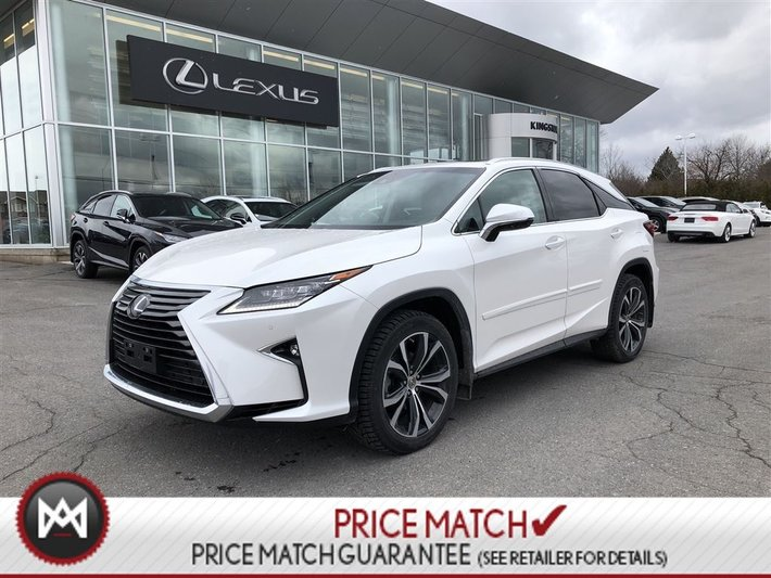 2017 Lexus RX 350 LUXURY - EXTENDED WARRANTY - 2 SETS TIRES - REMOTE
