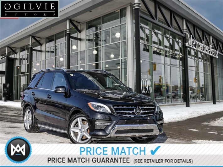 2015 Mercedes Benz Ml400 4matic Airmatic Used For Sale In Navi