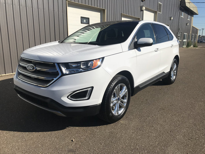2017 Ford Edge Sel Leather Nav Sunroof Used For Sale In