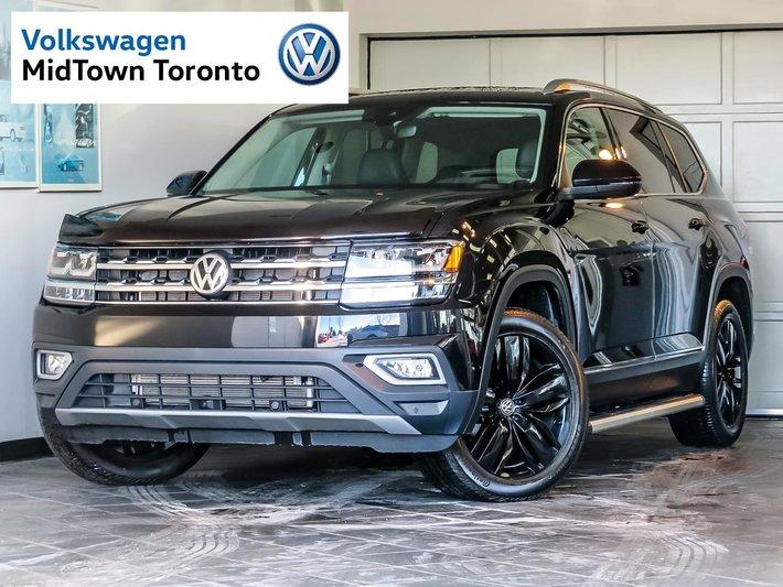 Used 2018 Volkswagen Atlas Execline 3.6L 4MOTION for Sale - $53550 | Volkswagen MidTown Toronto