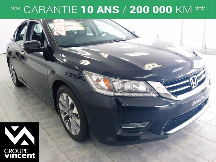 2013 honda accord touring navigation intrieur en cuir