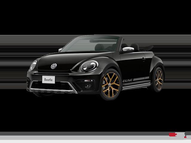 2017 Volkswagen The Beetle Dune Convertible 1.8T 6sp at w/ Tip