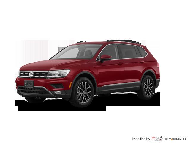 Volkswagen Tiguan 4dr AWD 4MOTION Comfortline 2018