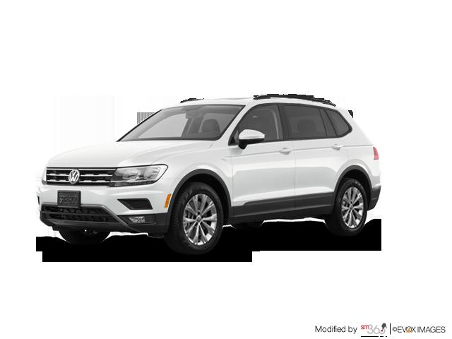 2018 Volkswagen Tiguan Trendline 2.0T 8sp at w/Tip
