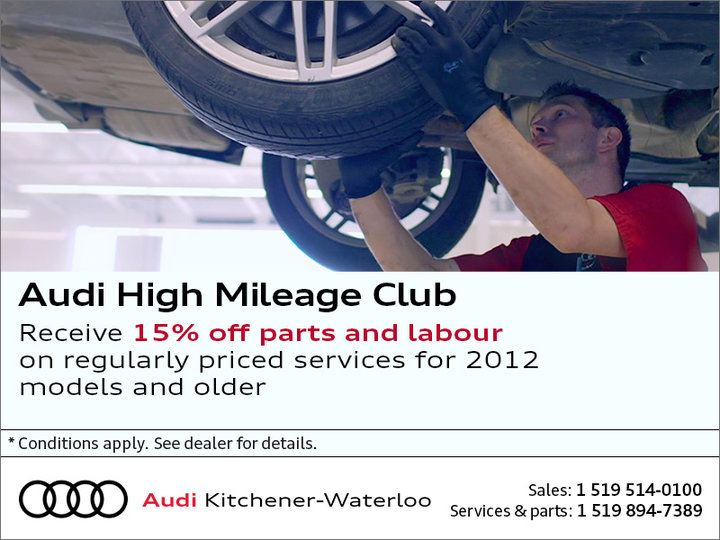 Audi high mileage club
