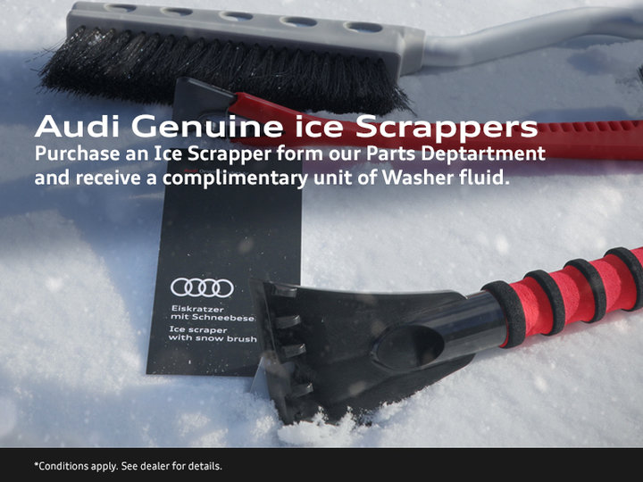 Audi Genuine Ice Scrappers