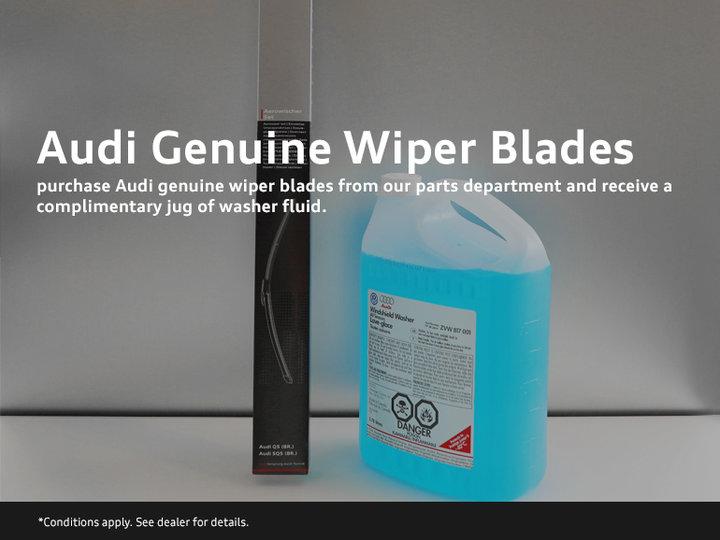 Audi Genuine Wipers