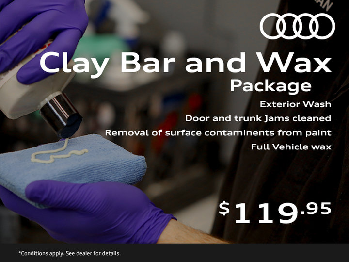 Clay Bar and Wax Package