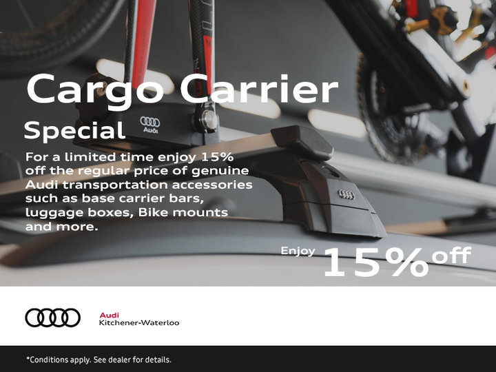 15% off Cargo Carriers