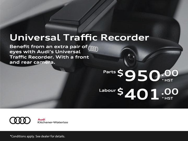 Audi Universal Traffic Recorder