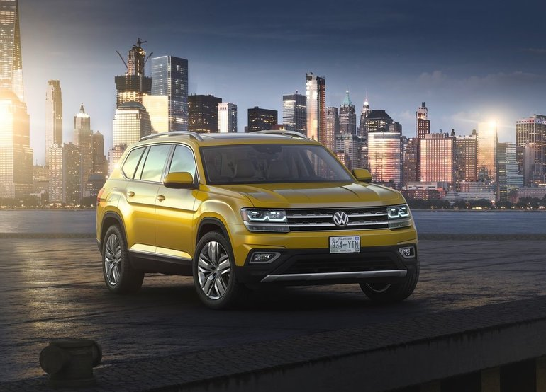2018 Volkswagen Atlas: The German Approach to the Midsize SUV