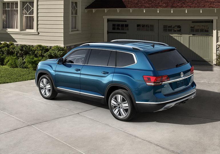 De la place pour toute la famille avec le Volkswagen Atlas 2018