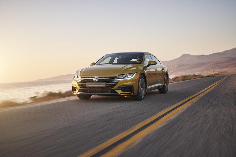 Coup d'œil sur les récents essais de la Volkswagen Arteon 2019
