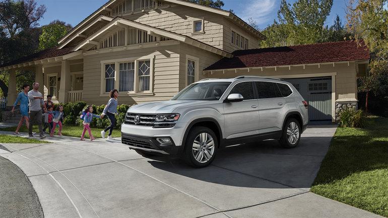 Volkswagen Atlas 2019 vs Kia Telluride 2019