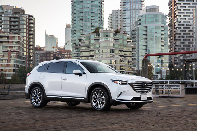 Here is the new 2019 Mazda CX-9
