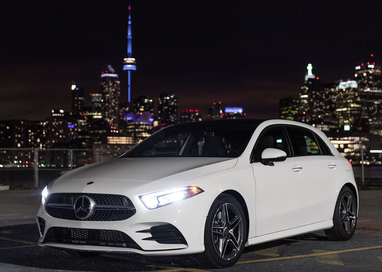The new 2019 Mercedes-Benz A-Class has officially arrived in Canada