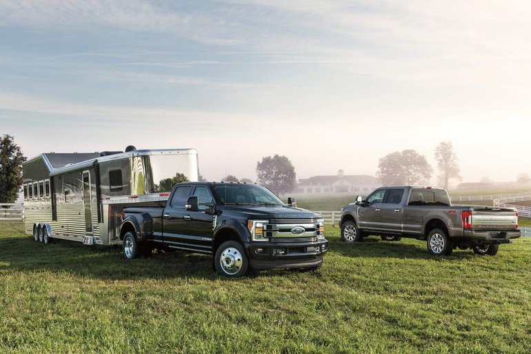 Sneak Peek at the First Ever Super Duty Limited
