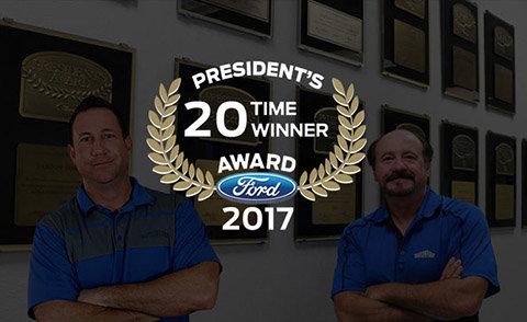 Ford's 20th President's Award Winner
