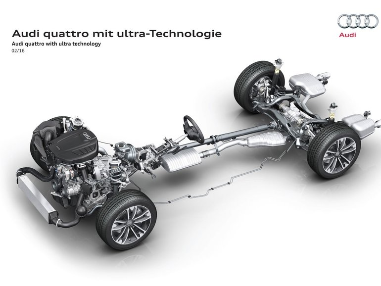 What You Need to Know About Audi's Quattro Ultra All-Wheel Drive System