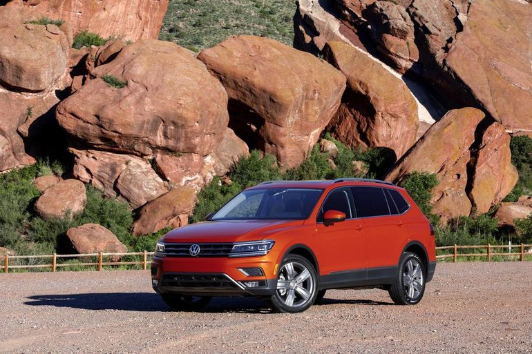 Preview 2018 Volkswagen Tiguan: VW SUV bulks up to become a serious contender