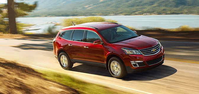 2016 Chevrolet Traverse: When a Small SUV Just Isn't Enough