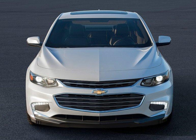2016 Chevrolet Malibu: It's Back
