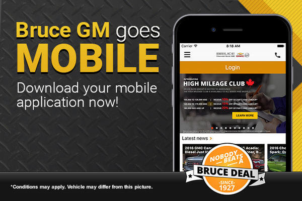 Bruce GM Goes Mobile!