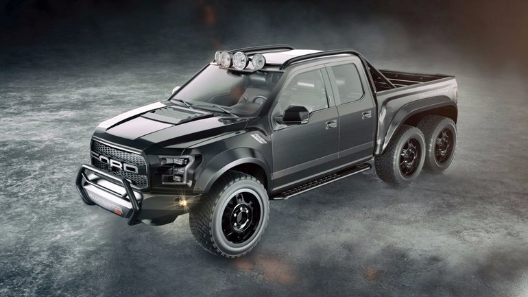 Hennessey takes the 2017 Ford F-150 Raptor to new heights