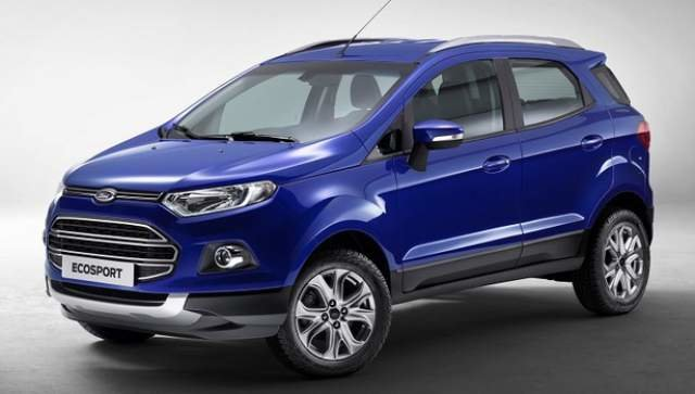 Ford unveils all-new 2018 EcoSport subcompact SUV in L.A.
