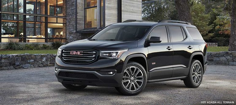 2017 GMC Acadia: Completely Revamped