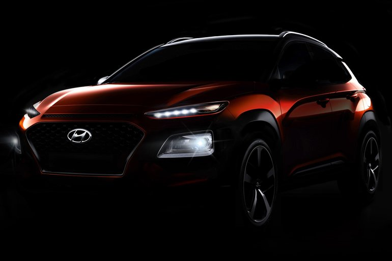 Hyundai unveils its latest and newest SUV, the 2018 Hyundai Kona