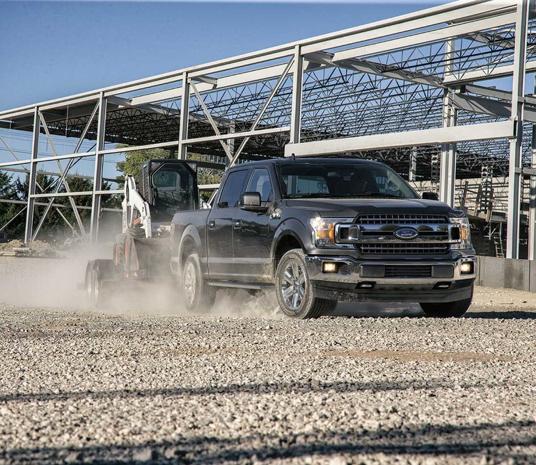 The 2019 F-150 is Built Ford Tough