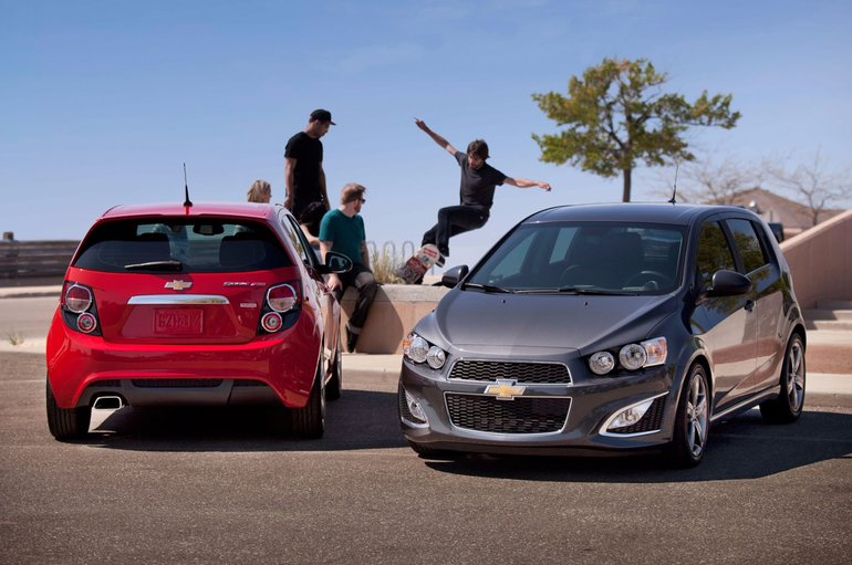 2015 Chevrolet Sonic: Small but proficient