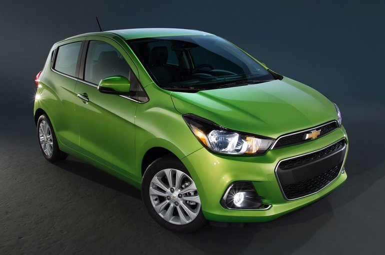 2016 Chevrolet Spark: All Grown Up