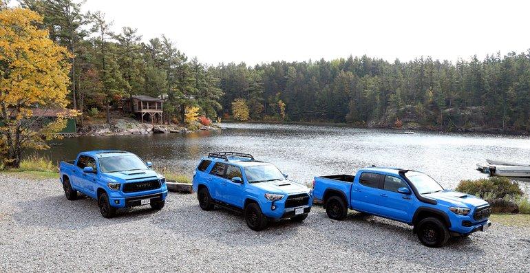 Ford Ranger 2019 vs Toyota Tacoma 2019 à Amherst