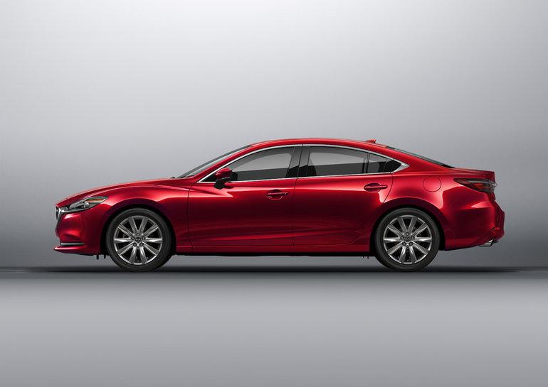 Mazda6 Turbo 2018: Cote de consommation