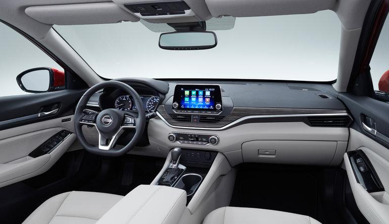 Nissan Altima 2019 dévoilée au Salon de l'auto de New-York